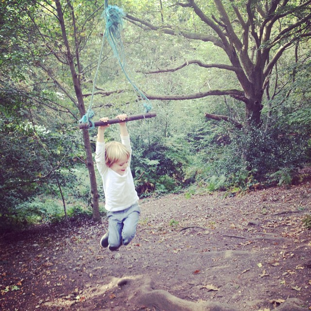Swinging #marlowcommon #littlespree