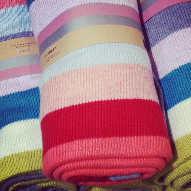 Spotted in @gap today... #babyblankets #stripes #cosy #littlespree