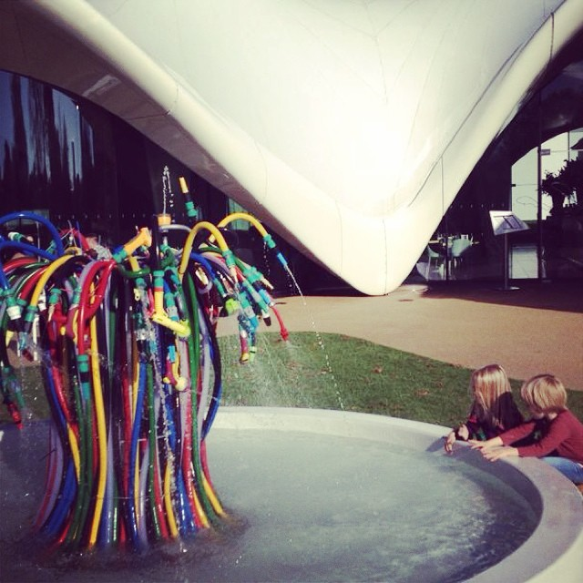 Fascinated at the serpentine sackler gallery yesterday #cultureday #zahahadid #littlespree