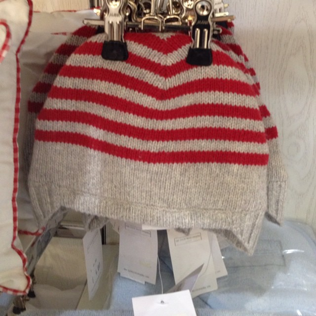 Striped hat @thewhitecompany @bicestervillage