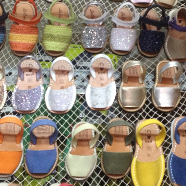 Traditional Spanish kids sandals #mallorca