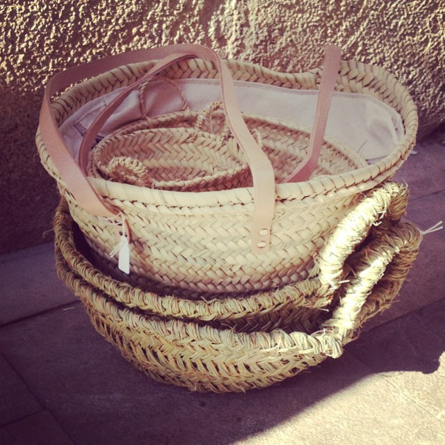 My basket stash! #spanishbaskets #howmanycanicarry #excessbaggage #loveabasket #littlespree