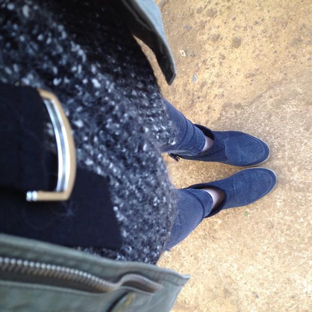 Layers at @petershamnurseries this morning #brrrrrrrr #layering #mamaspree