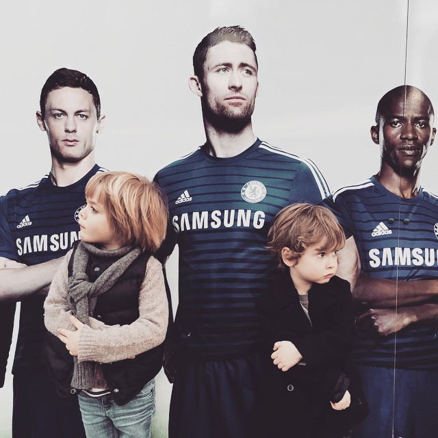 'The special ones' #littlespree boys on a tour of Chelsea stadium #football #chelseafc #family #fun #specialone