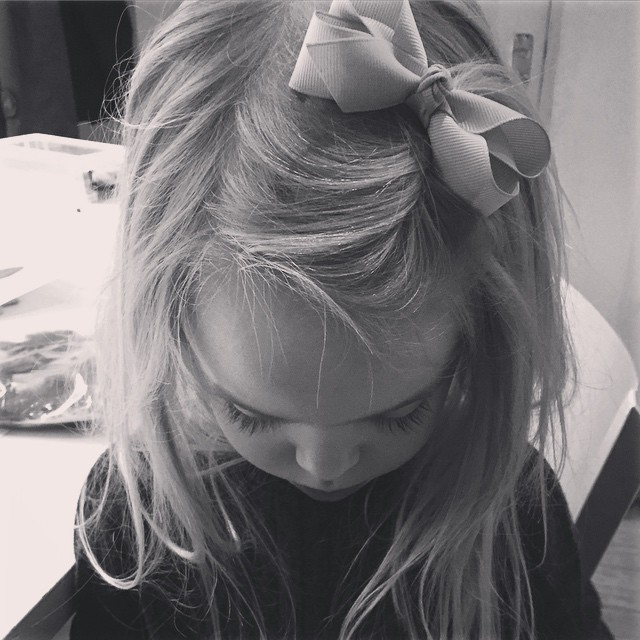 Concentration #Tabitha #littlespree #bows @verityjoneslondon