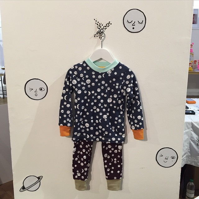 Such cute 'to the moon and back' pyjamas  from @thebrightcompany @dottodotlondon #littlespree #littlespreefavourites #coolkidspyjamas #cute
