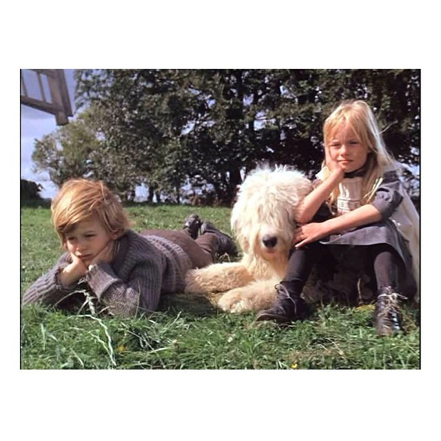 The most gorgeous children: #jeremyandjemima #chittychittybangbang #lovethatfilm #littlespree
