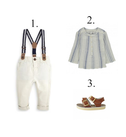 Baby Stripe outfit