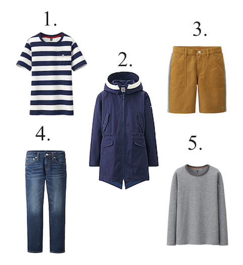 Uniqlo Boys Outfit