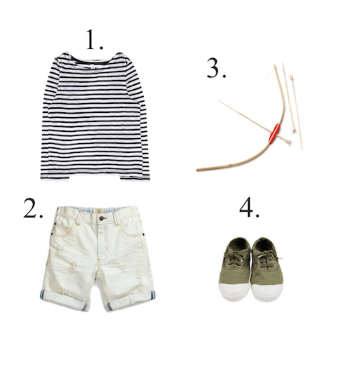 Boys stripe top