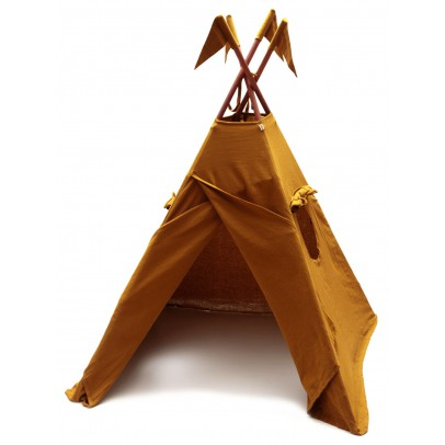 cotton-teepee-mustard-yellow