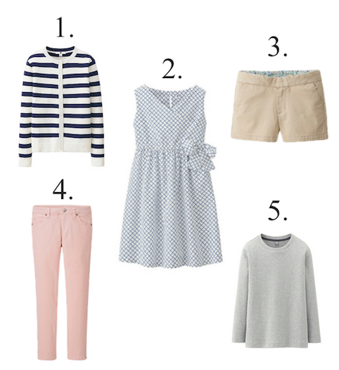 Uniqlo Girls Clothing