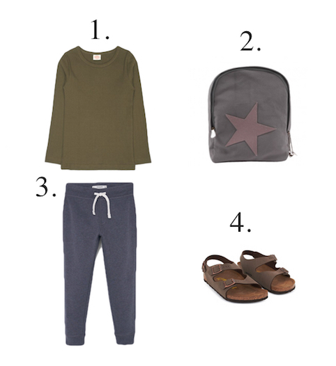 Boys Travel Outfit