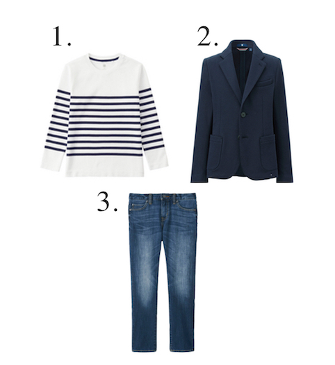 Little Spree: Uniqlo collaboration - boys