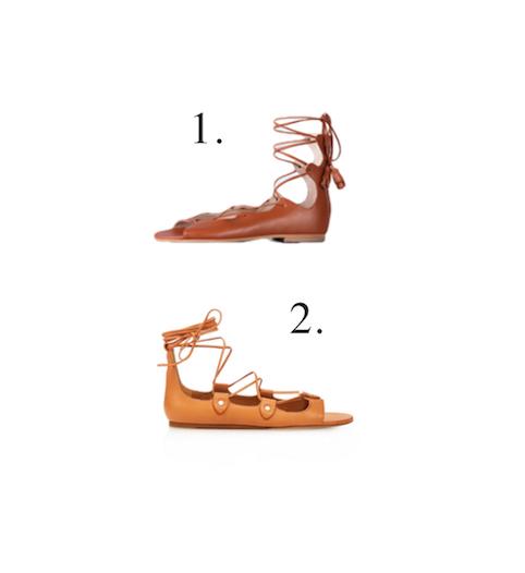 Little Spree designer lookalike Summer sandals
