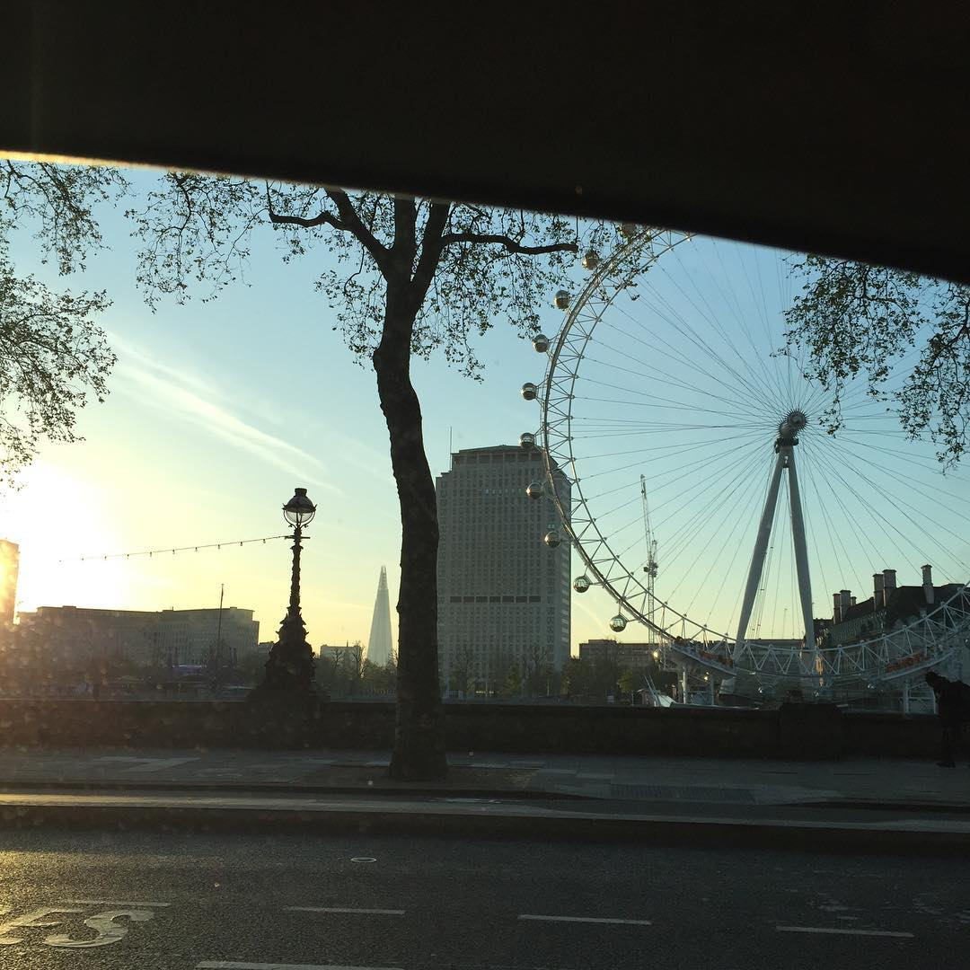 Laters London LondonIbiza viewfrommycab nofilter beautifulmorning Readnbspmore