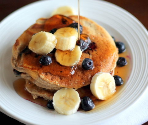Gluten free banana pancakes recipe - Little Spree