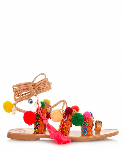 The pom pom sandals that everyone wants - Little Spree