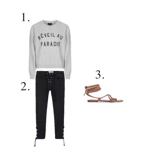 How to wear a cool sweatshirt - Little Spree