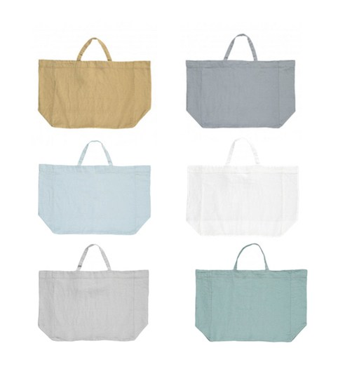 Linge Particulier linen tote bag from Smallable- Little Spree