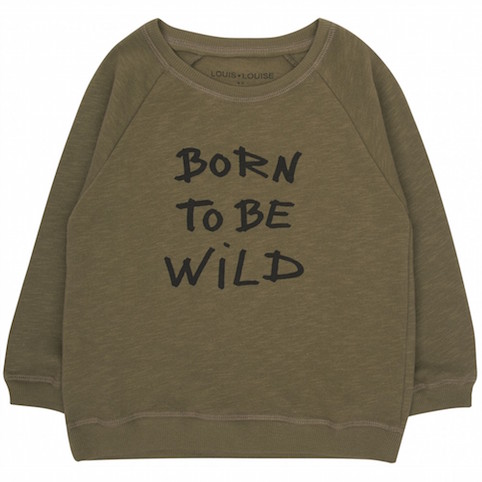 Louis Louise Born To Be Wild sweatshirt - Little Spree