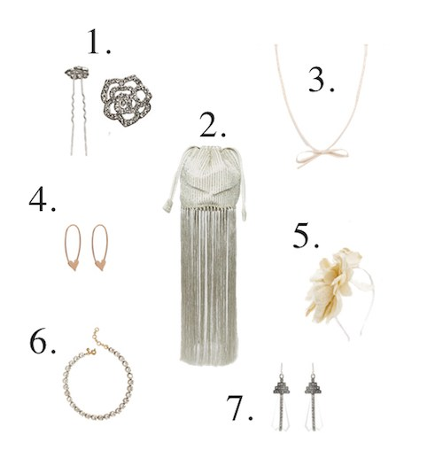 Stylish bridal accessories - Little Spree