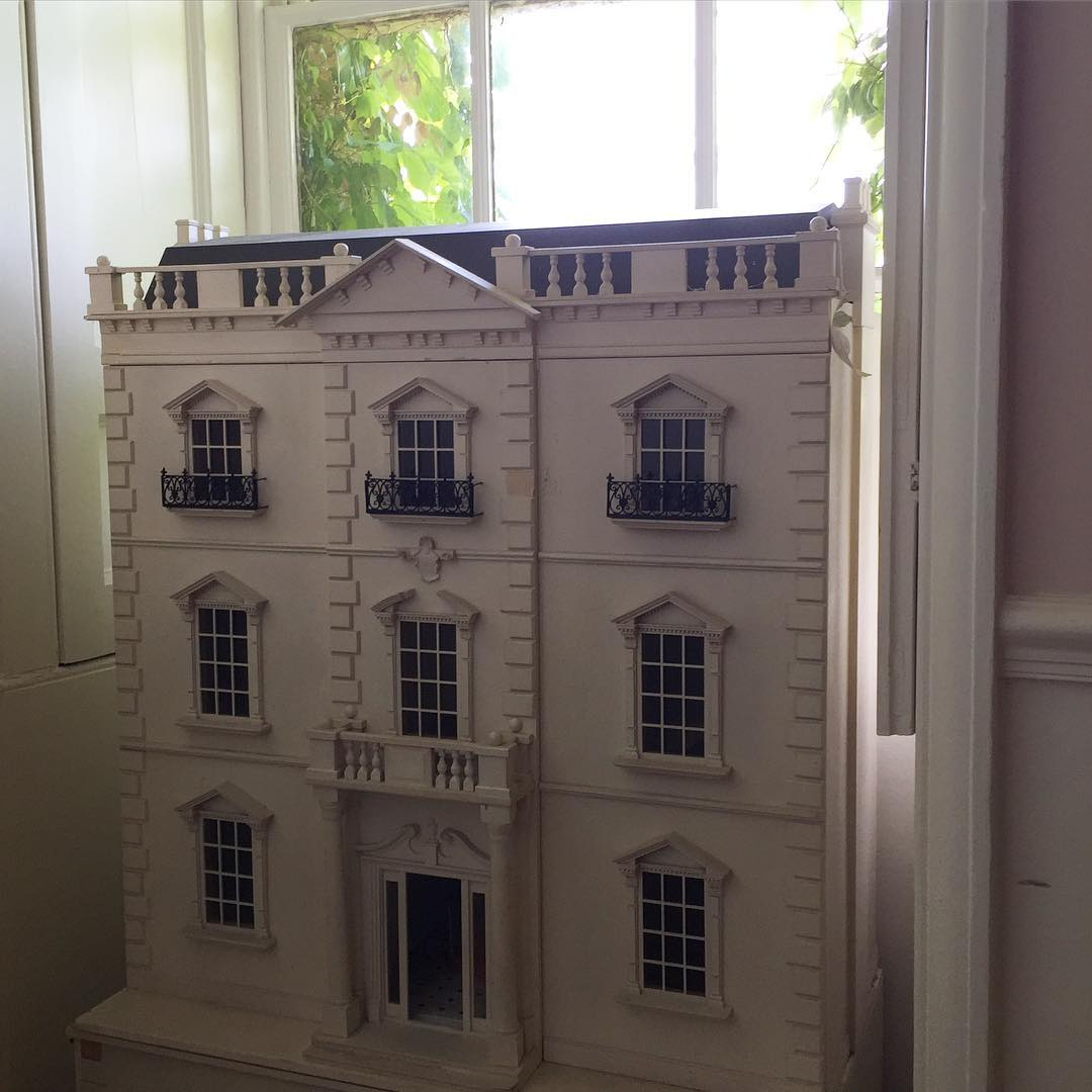 Beautiful dolls house in our location house today SC narboroughhallhellip