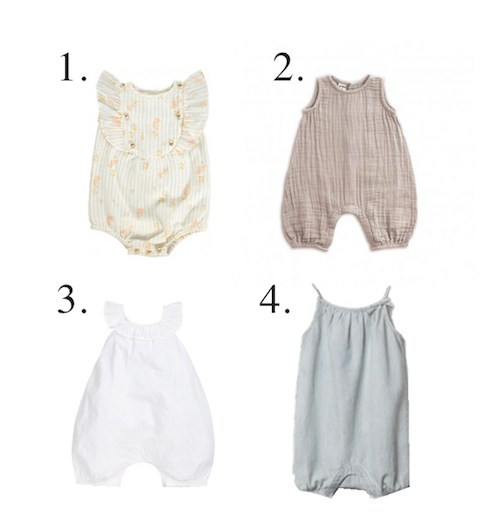 Baby Girls Rompers - LITTLE SPREE