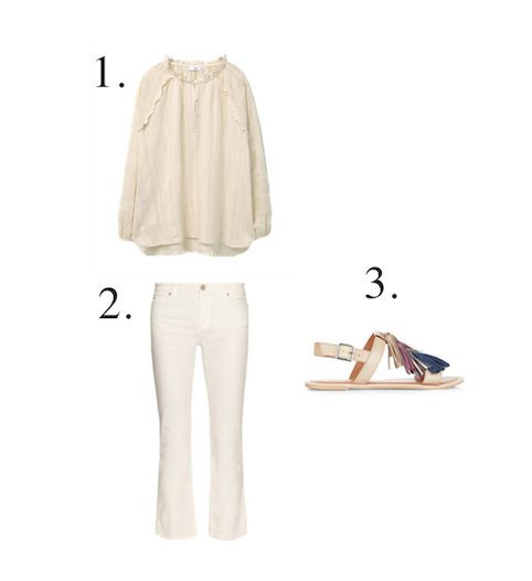 How to wear all white - Little Spree