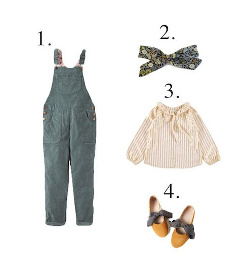 Boden girls dungarees - Little Spree