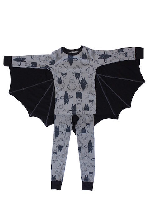 Halloween bat pyjamas for kids - Little Spree